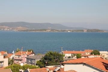 Deniz Manzaralı Urla Kalabak Mah Satılık İkiz Villa 570 m2 Kullanım Alanı