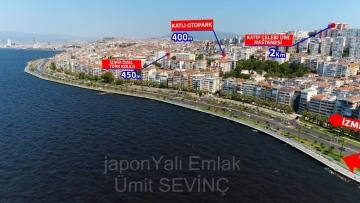 İzmir Göztepe'de Eski Vali Konağı Yanı Satılık Köşk