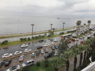 İzmir Göztepede'de Satılık 2+1 Satılık Yalı Dairesi Panoramik Manzara